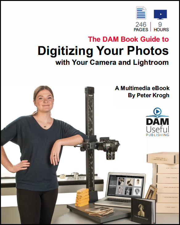 New book by Peter Krogh on scanning photos with a digital camera